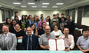 A photo of researchers from the Centre and Parts of Asia