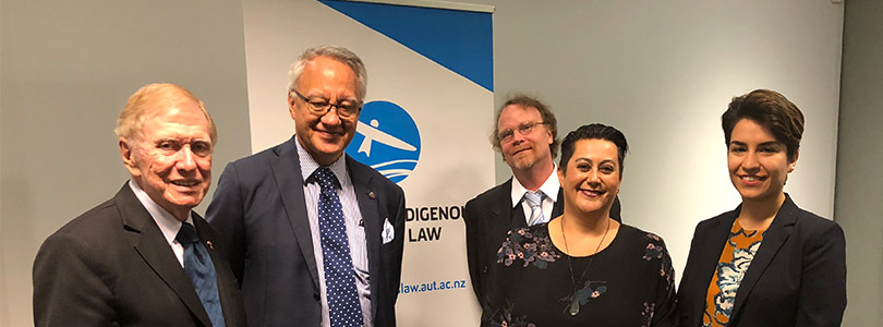 The AUT Centre for Indigenous Rights and Law is officially launched